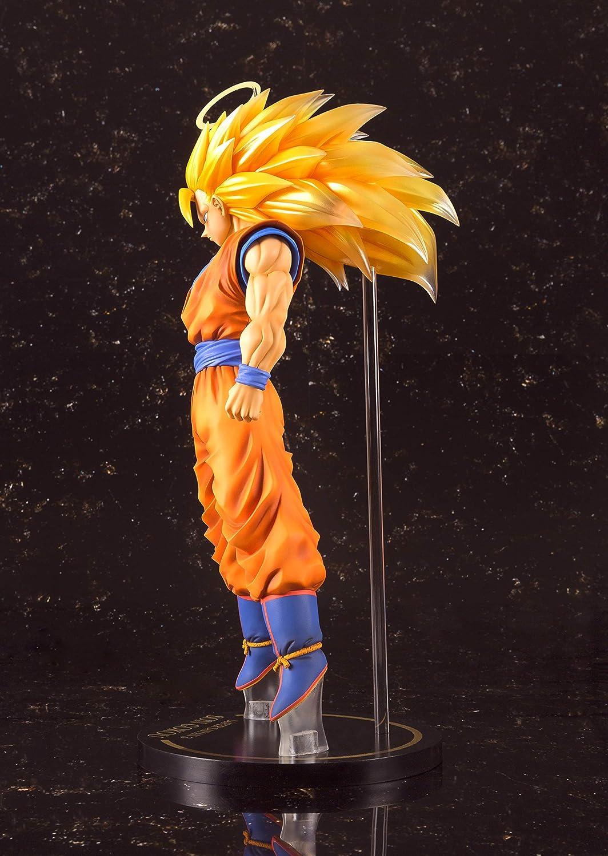 Dragon Ball Z Super Saiyan 3 Goku Big Size Figures Manga Bandai Dragonball Pvc A