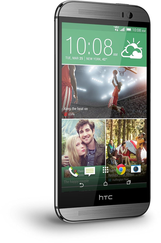 Amazon.com: HTC One M8, Gunmetal Grey 32GB (Verizon Wireless): Cell Phones  & Accessories