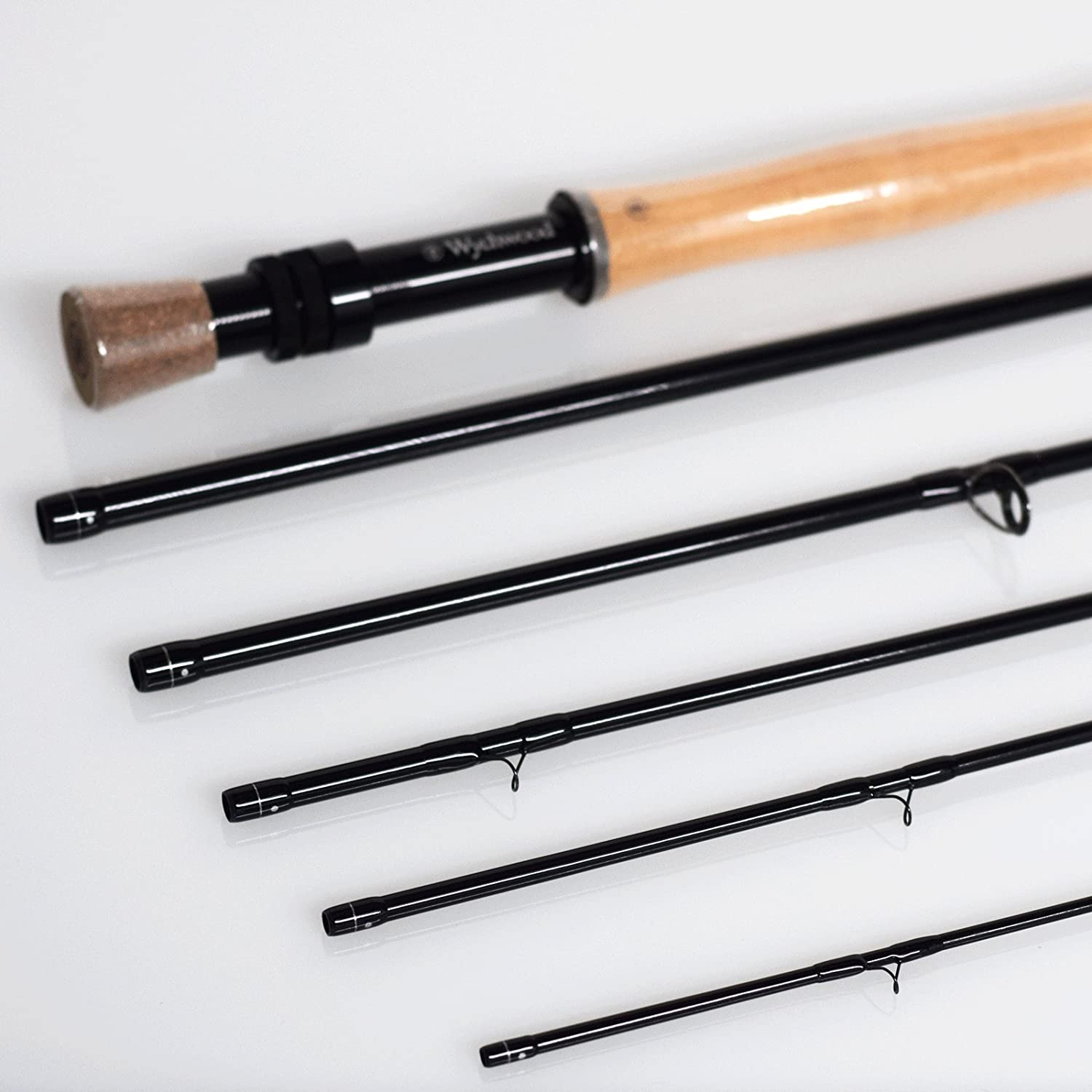 Wychwood Quest V2 Six Piece 9 ft 6 inch 7-Wt Fly Fishing Rod with Case