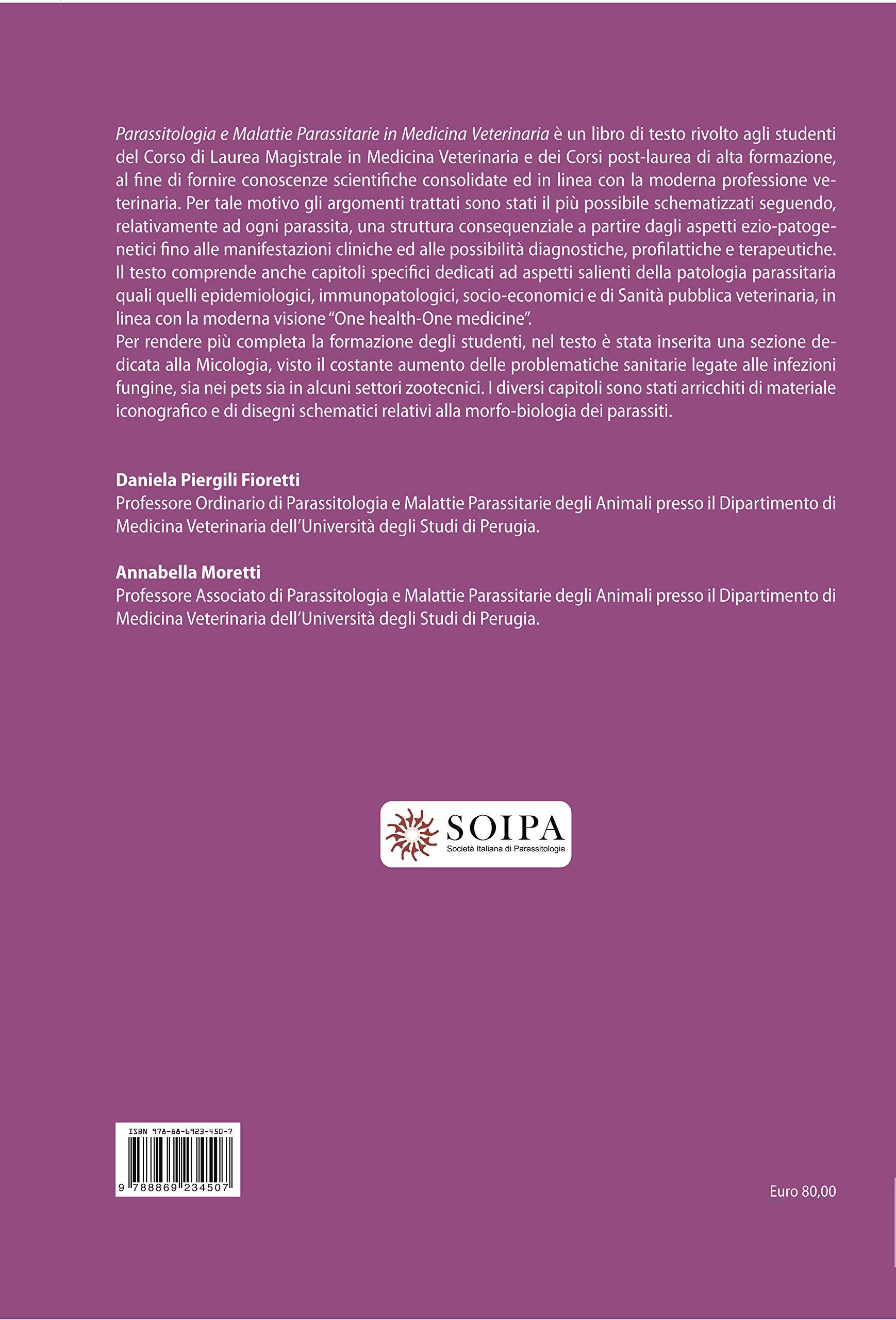 libro parassitologia veterinaria