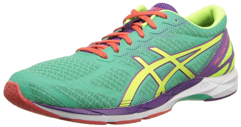 ASICS Women's Gel-DS Racer 10 Running Mint/Flash Yellow/Purple 5.5 M US ASICS America Corporation GEL-DS Racer® 10-M