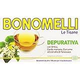 Bonomelli - Tisana, Depurativa, con ortica, cardo mariano, curcuma ed estratto di tarassaco -   16 filtri