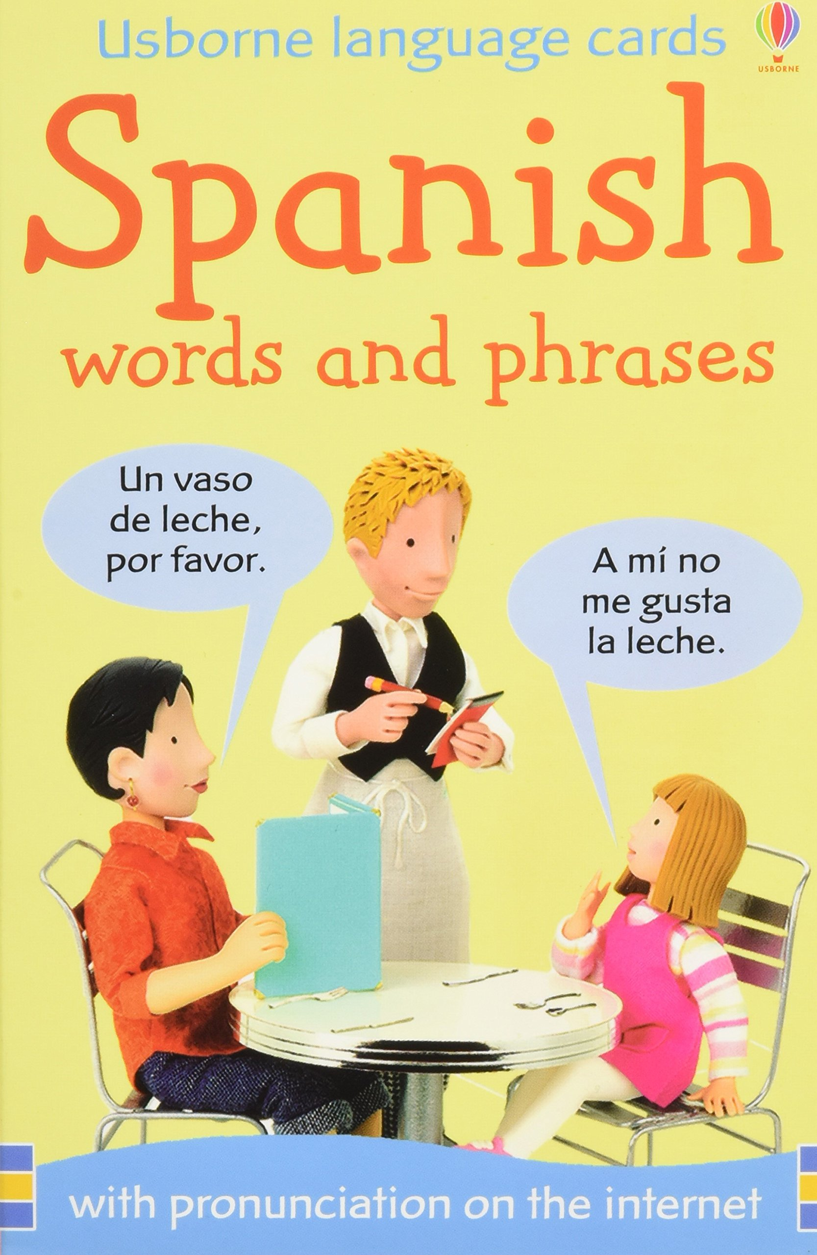 Spanish First Picture Flashcards Felicity Brooks 9780746075692