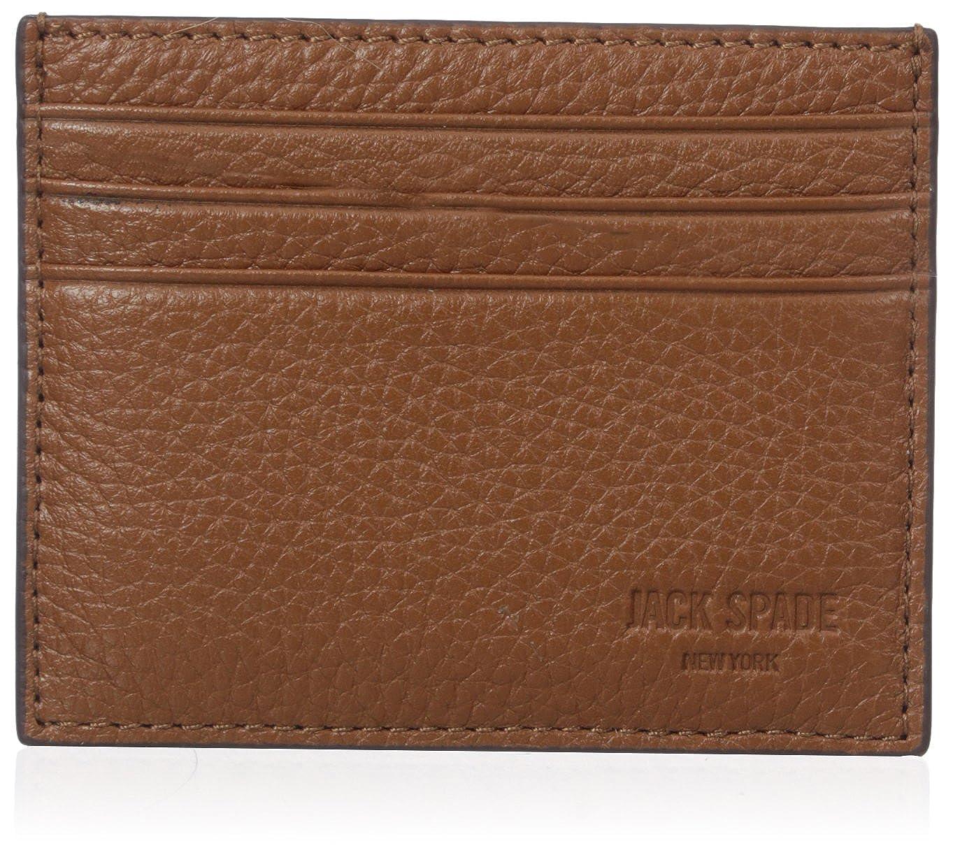 Jack Spade Men's Pebble Leather 6 Card Holder W6RU0396