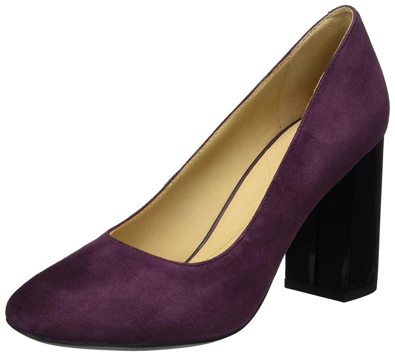 Geox Damen D AUDALIES HIGH A Pumps, Violett (Prune), 40 EU