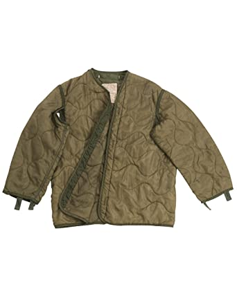 0f2f01e832f2 Genuine US Army Issue Surplus Cold Weather M65 Jacket Liner Grade 1  (Medium) Green  Amazon.co.uk  Clothing