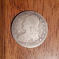 1833 Capped Bust Silver Half Dollar Half Dollar About Good