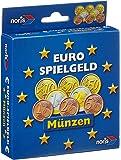 Noris Spiele 606521012 - Euro Spielgeld Münzen