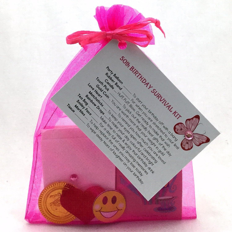 60th Birthday Survival Kit Fun Novelty Gift