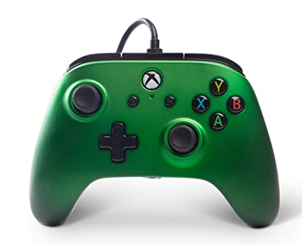 BD&A Power A Enhanced Wired Controller for Xbox One & Windows 10 - Green