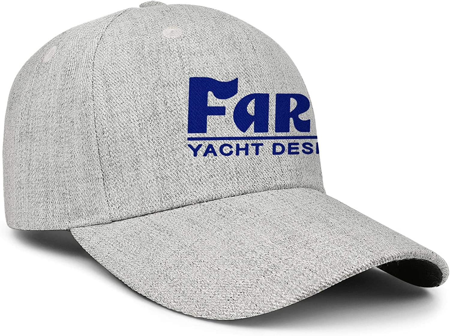 LiyeRRy Farr-Yacht-Design-Logo Adjustable Baseball Cap Wool Strapback Dad Hat Unisex Unstructured Trucker Hat