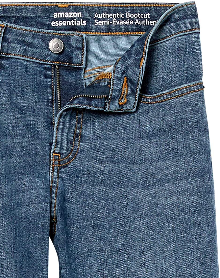 Essentials Womens Mid-Rise Authentic Bootcut Jean