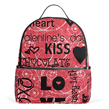 Jstel Kids Backpack Children S Day Gift Valentine S Day Love Heart