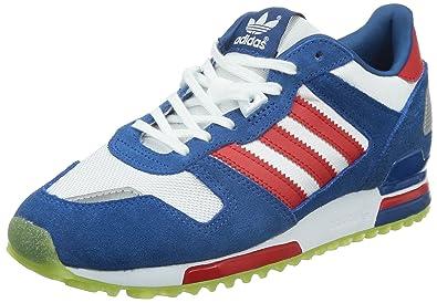 code promo 01d48 326ff Adidas - ZX 700 W - Pantoufle, Bleu Marine/Rouge / Blanc ...