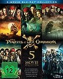 Pirates of the Caribbean 1-5 Box [Blu-ray]