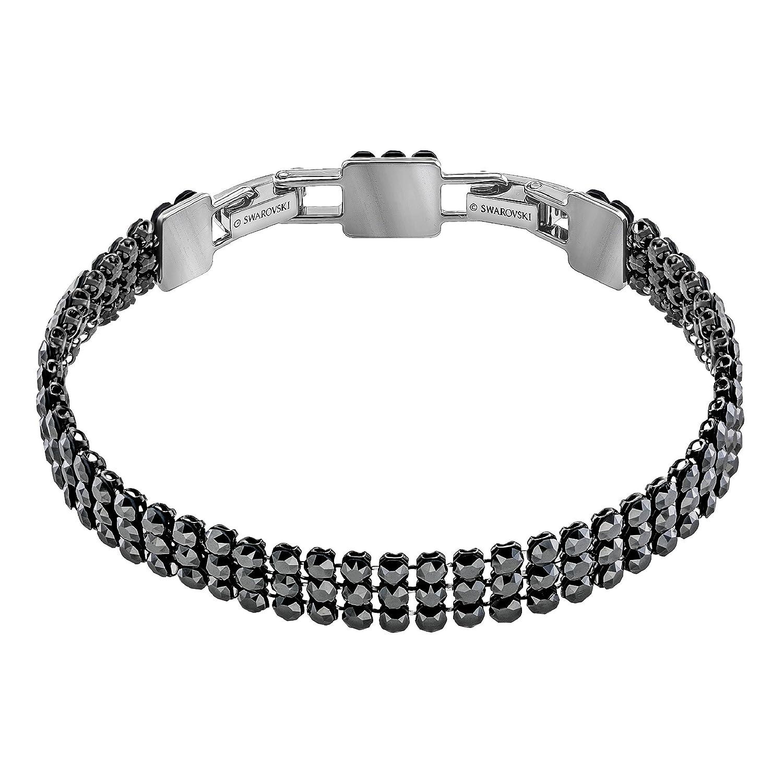 d5af9183fd92e Swarovski Fit Bracelet, Black, Ruthenium Plating