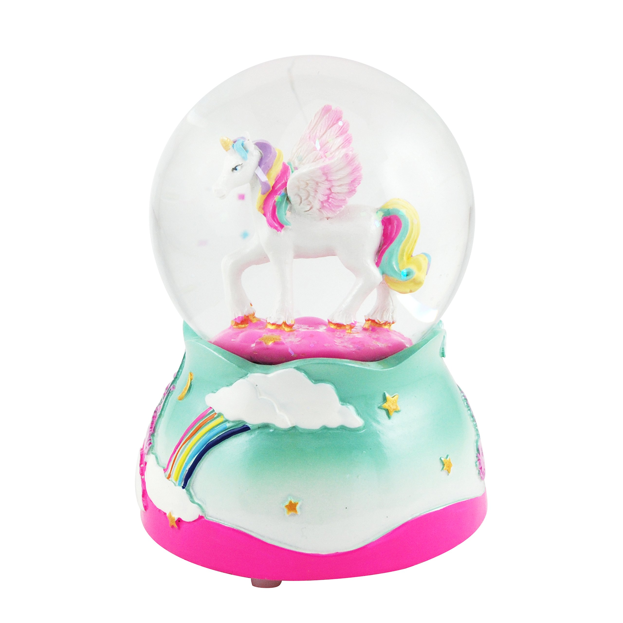 UnicornMusical Snow globe - 80 MM