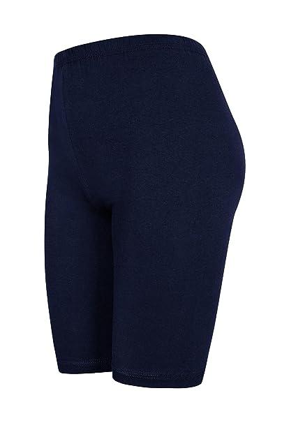 DeDavide Pantaloncini sopra Ginocchio Pantaloncini Calzoncini Hot Pants con 16 Colori