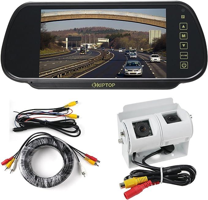 Kiptop 7 Inch TFT Colour Monitor Colour Camera: Amazon.co.uk: Camera & Photo | Twin Reversing Camera Wiring Diagram |  | Amazon.co.uk