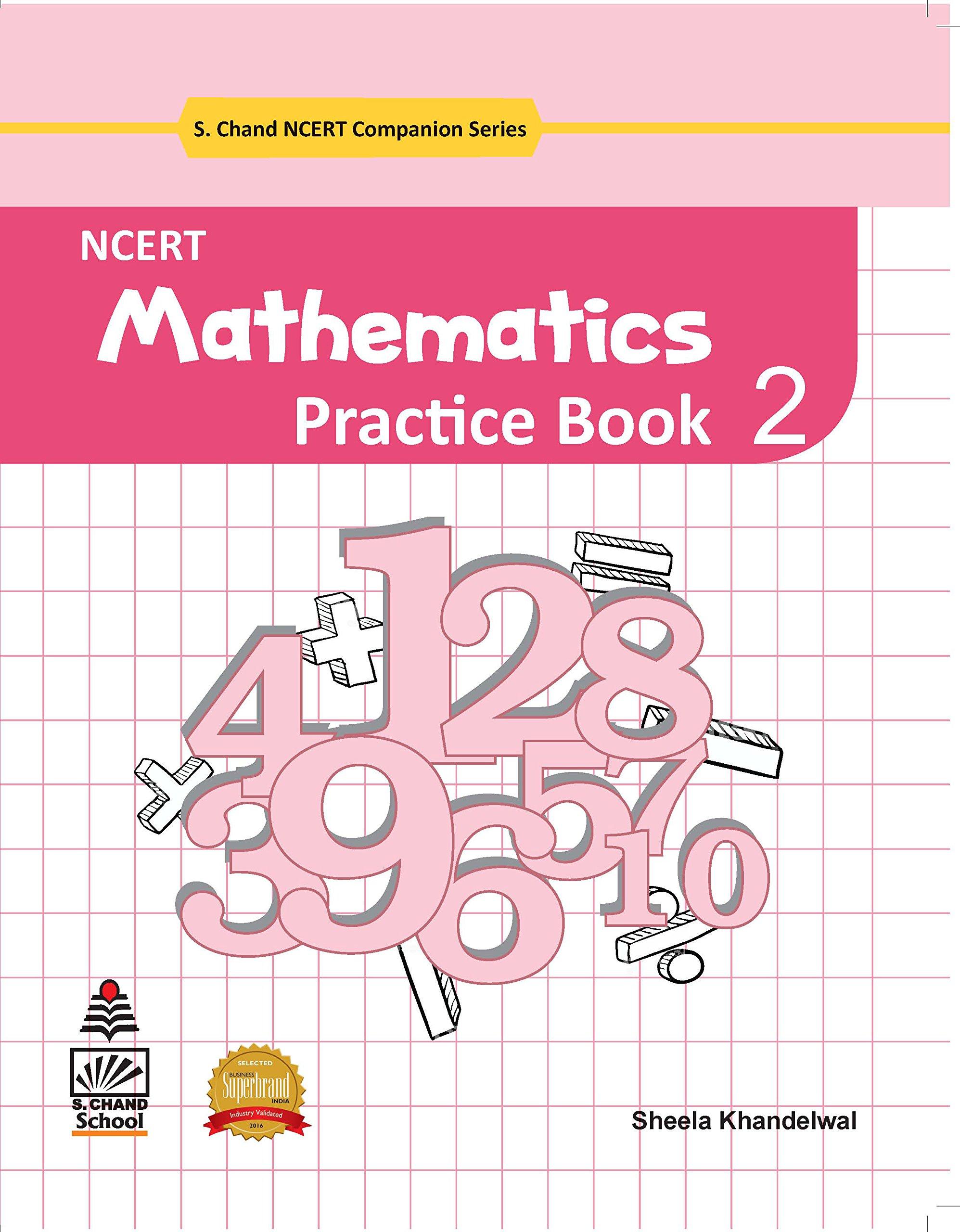 NCERT Mathematics Practice Book for Class 2 2019 Exam