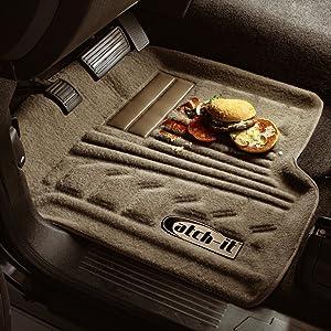 Lund 583001-T Catch-It Carpet Tan Front Seat Floor Mat - Set of 2