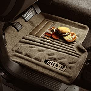 Lund 583004-T Catch-It Carpet Tan Front Seat Floor Mat - Set of 2