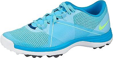 1444c7ad53a5 NIKE Women s Air Summer Lite II Golf Shoes (Blue White Green (10.5 ...
