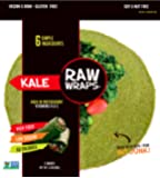 Raw Wraps Kale- Gluten & Soy Free, Vegan & Raw