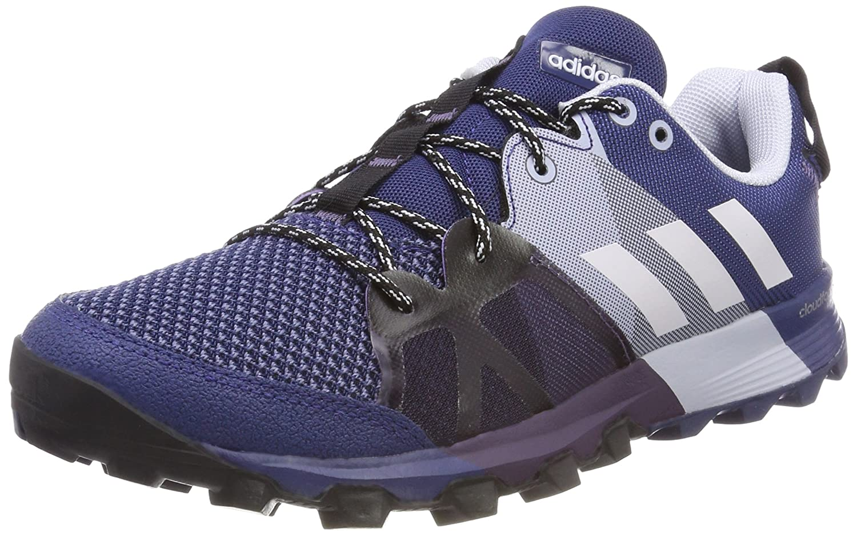 Adidas Kanadia 8.1 TR W, Zapatillas de Trail Running para Mujer 38 2/3 EU|Varios Colores (Noble Indigo / Orchid Tint / Aero Blue 0)