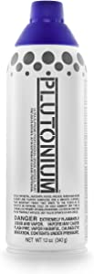 PLUTONIUM Paint PLUTON-20170 Ultra Supreme Professional Aerosol Paint, 12-Ounce, Purple Haze