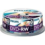 Philips DVD-RW rohlinge (4,7Go Data/120minutes, vitesse 1–4x enregistrement vidéo 25er Spindel