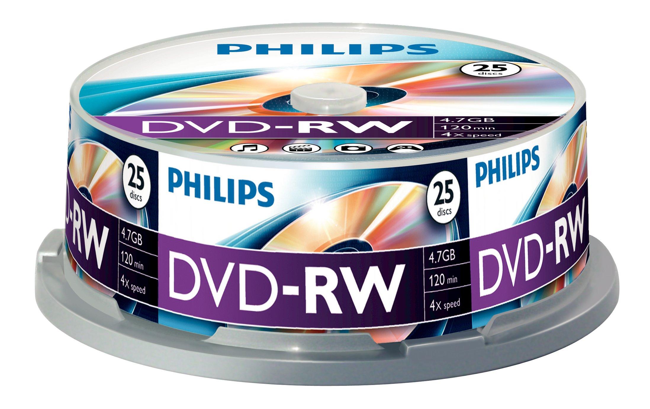 DN4S4B25F - 25 x DVD-RW - 4.7 GB ( 120 Min. ) 1x