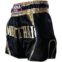 Premium MUAY THAI SHORTS handmade by World MMA Gear, Thai boxing, Kickboxing, MMA