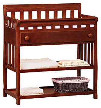Great Delta Childrenu0027s Products Silverton Changing Table, Dark Cherry  (Discontinued By Manufacturer)