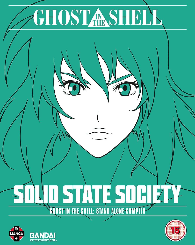 Ghost In The Shell: SAC - Solid State Society Reino Unido Blu-ray: Amazon.es: Kenji Kamiyama: Cine y Series TV