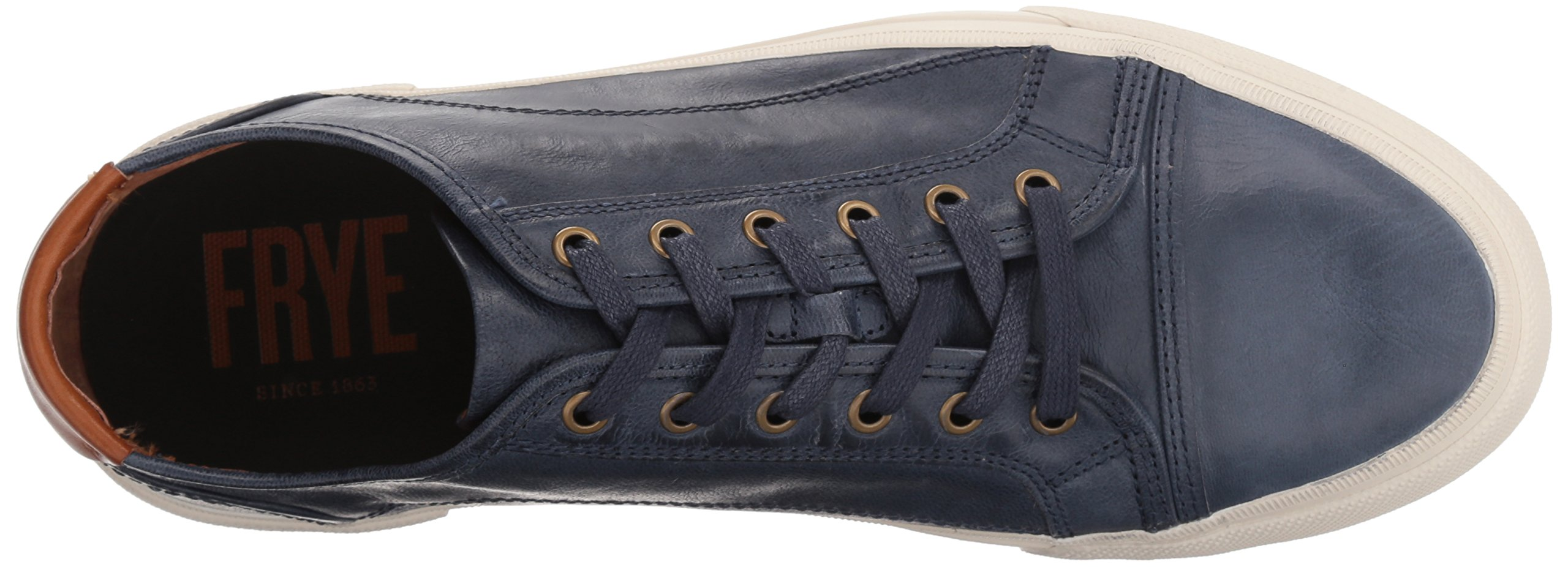FRYE Men's Ludlow Cap Lowlace Sneaker, Navy, 11 Medium US by FRYE (Image #8)