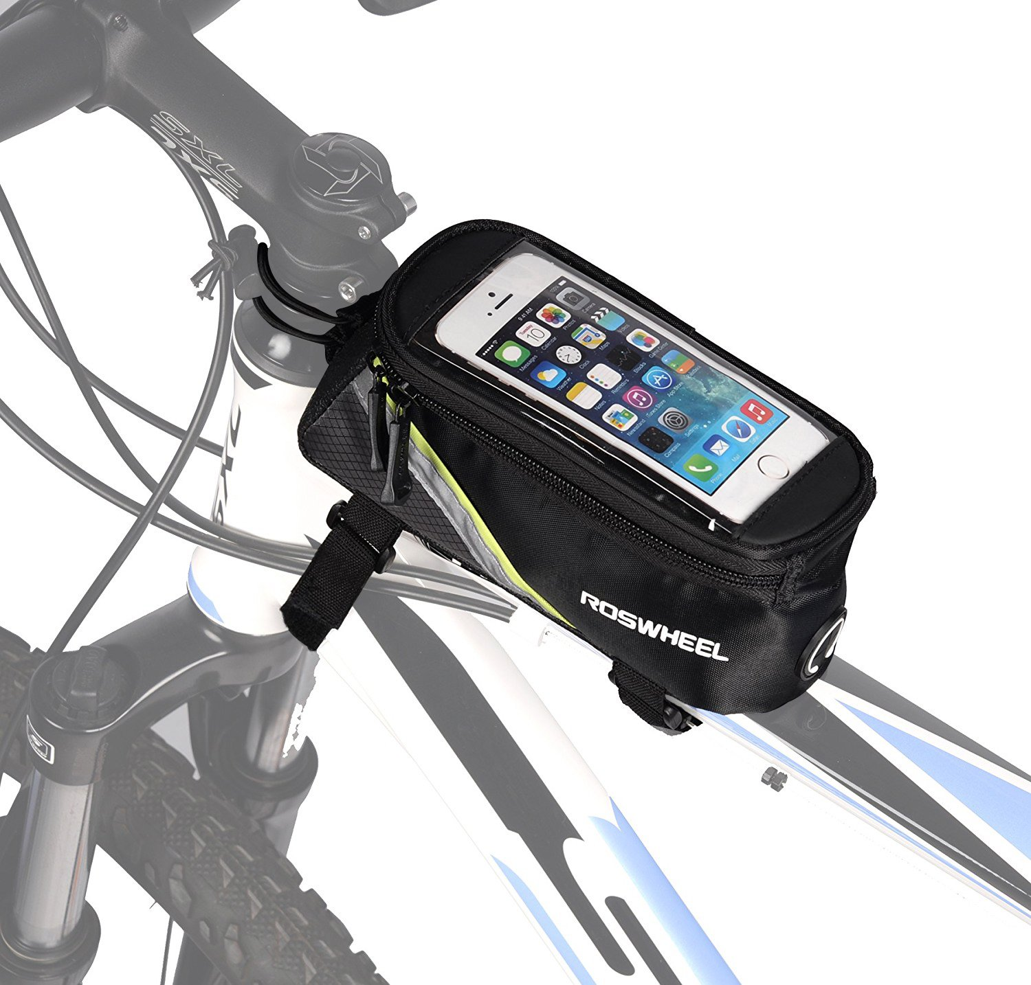 Front Bike pouch Frame Bag Storage Mountain Bike Tube Bicycle Case Useful