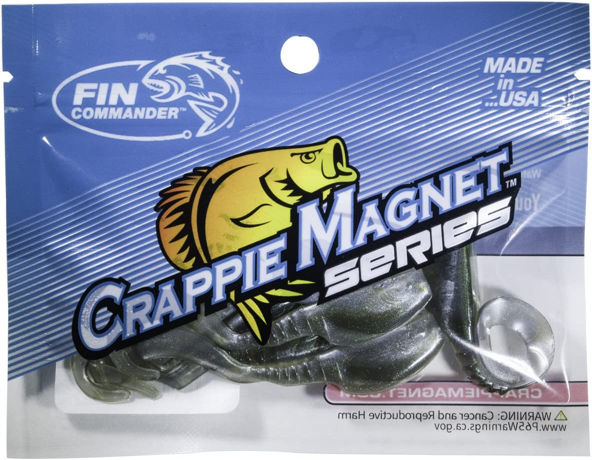 Fin Commander Slab Curly 12-Piece Curly Tail Jig Pack