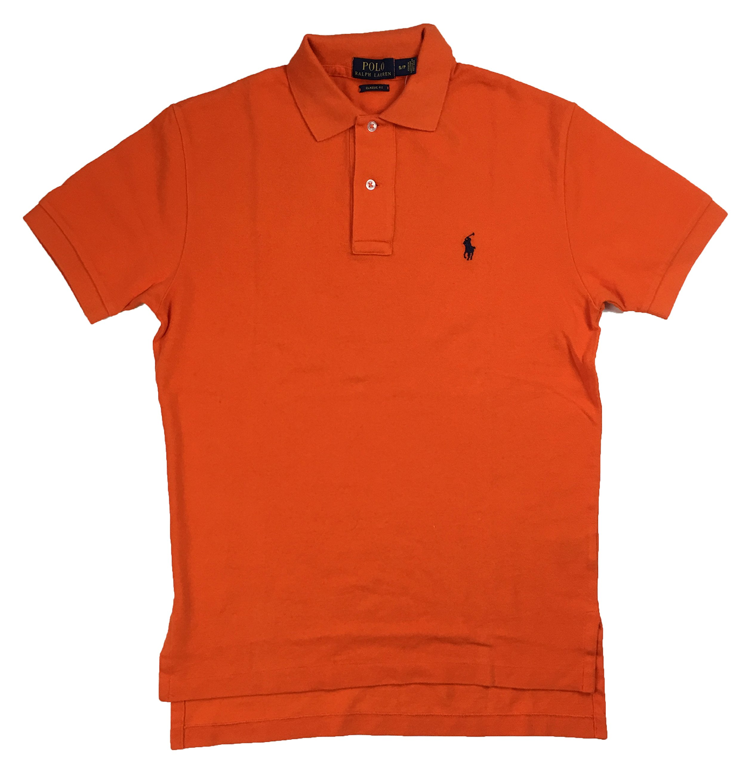 Polo Ralph Lauren Classic Fit Mesh Polo, Basketball Orange, Small