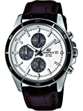 Casio Edifice – Men's Analogue Watch with Genuine Leather Strap – EFR-526L-7AVUEF
