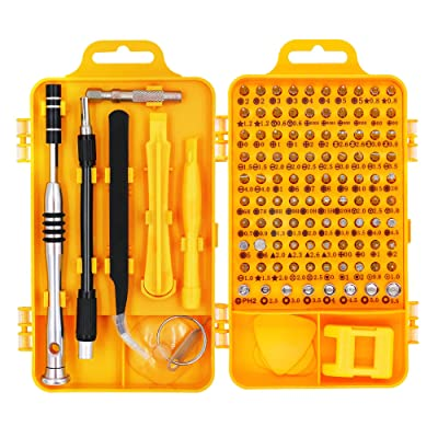 HX Studio 110 in 1 Precision Screwdriver Set Magnetic Driver Kit, Professional Repair Tool Kit for iPhone X, 8, 7 below/Phone/Computer/Tablet/Xbox/PlayStation/electronic: Home Improvement