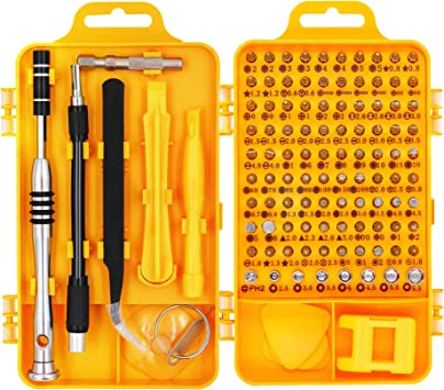 Xbox Game HX Studio 60 in 1 Screwdriver Set with 56 Bits Precision Screwdriver Kit,Magnetic Driver Kit PC Professional Repair Tool Kit with Flexible Shaft for for iPhone,MacBook Tablet,Cellphone