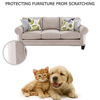 Cat Scratch Protection Any Couch, Sofa Or Chair, Works For Leather And  Upholstered Furniture