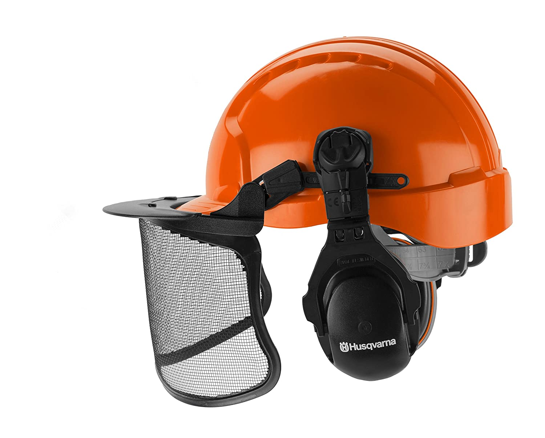 39c717e1 Amazon.com : Husqvarna 592752601 Forest Head Protection Helmet : Garden &  Outdoor