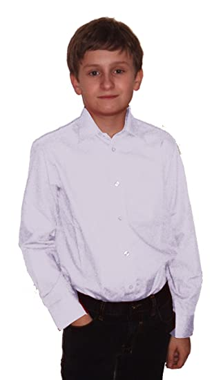 Helgas Modewelt Niños Camisa para traje de comunión, oberhemd de ...
