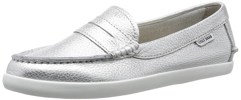 Ch silver Metallic Leather Cole Haan Women's Pinch Weekender Sneakers