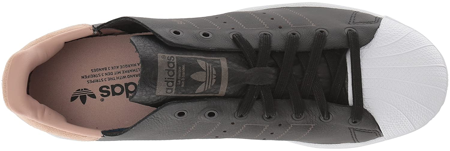 adidas Originals Women's Superstar Decon Shoes B01MRXH7SK (7 M US)|Black/Black/White