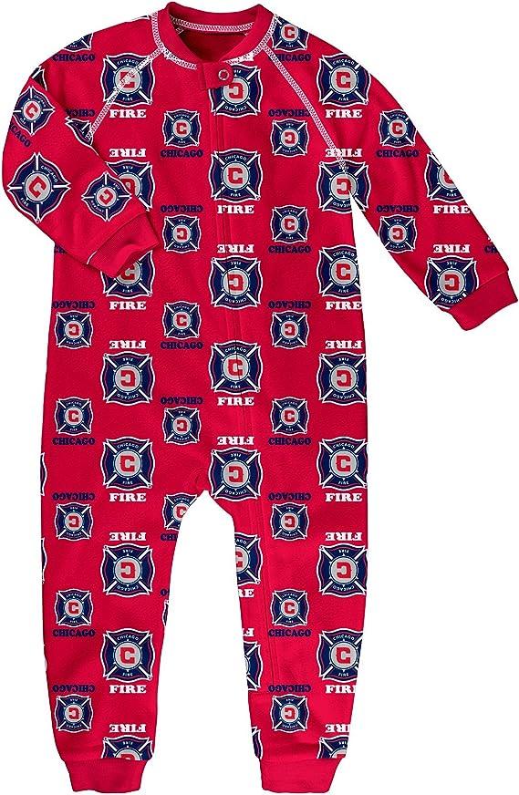MLS Boys Sleepwear Zip Up Coverall