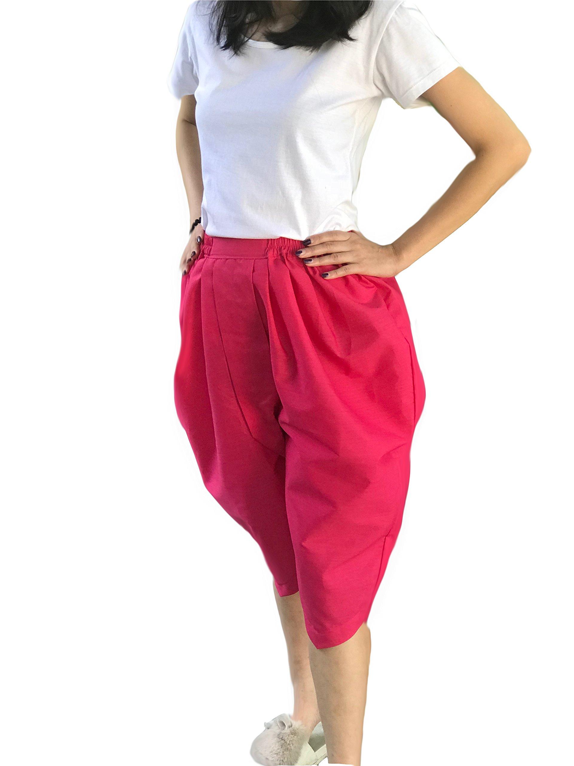 Siwalai Thai Traditional Pant (Johng KRA Ben) (Pink)