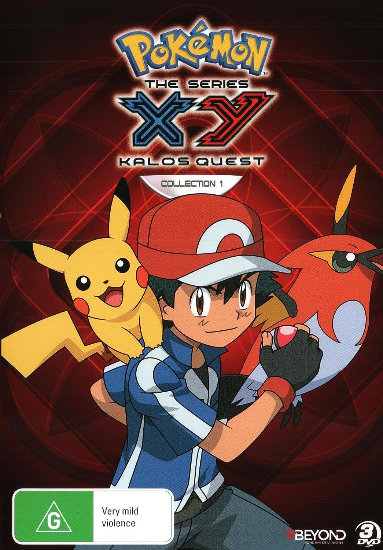 Amazon.com: Pokemon XY Kalos Quest Collection 1 | Anime ...
